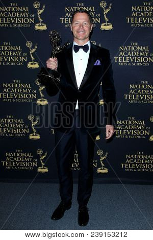 PASADENA - APR 27: John Nordstrom, Outstanding Music DIrection at the 45th Daytime Creative Arts Emmy Awards Gala at the Pasadena Civic Center on April 27, 2018 in Pasadena, California