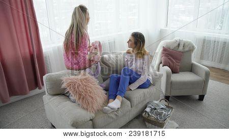 Friendship Bff Mates Communication Conversation. Girls Talking Teenage Mates Lifestyle Leisure