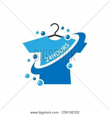24 hours laundry logo vector photo free trial bigstock 24 hours laundry logo vector photo