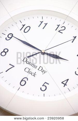 Dooms Day Clock