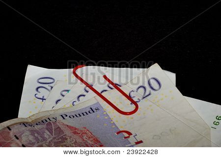 Zwanzig Pfundnoten