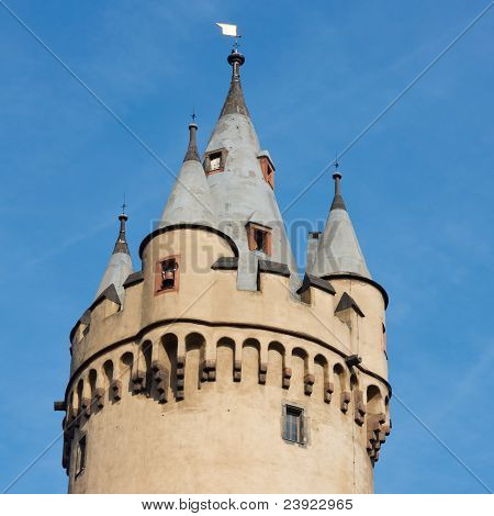 Old Turret With Crenels