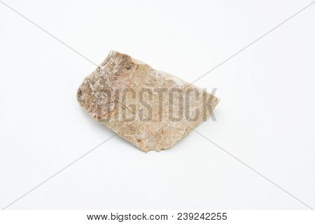 Dolomite Mineral Isolated Over White