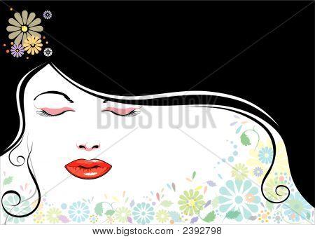 Face_Blackhair_Flower