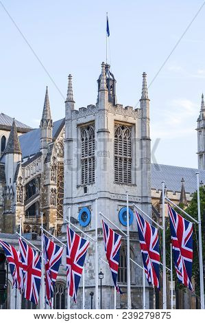 London, United Kingdom - June 21, 2017: Westminster Abbey, One Of The Most Important Anglican Temple