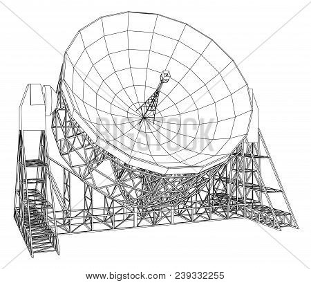 Radiotelescope Images Illustrations Vectors Free