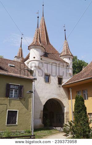 Ecatherine Gate  (poarta Ecaterinei)  - Romania,transylvania, Brasov