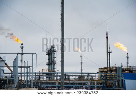 Oil And Gas Industry,refinery Factory