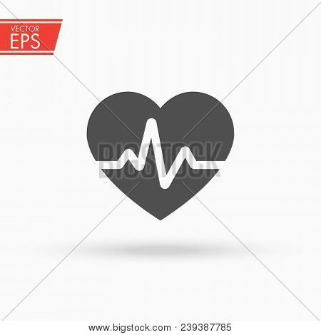 Ekg Pulse Red Medic Blood Pressure , Cardiogram, Health Logo, Heartbeat. Health And Medical Protecti
