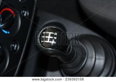 Car Gear Lever. Manual Shift Gear. Car Gear Shift Stick.
