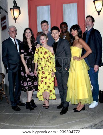 LOS ANGELES - MAY 4:  Cast, The Good Place at the
