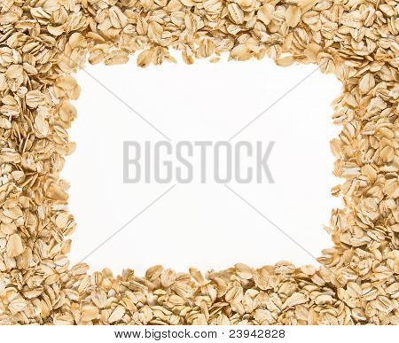 Frame Of Oatmeal.