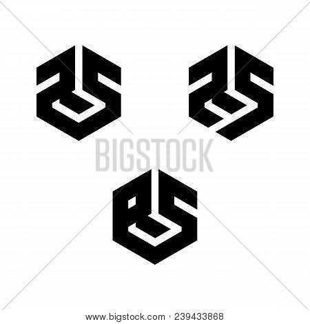 rs r s letter logo vector photo free trial bigstock