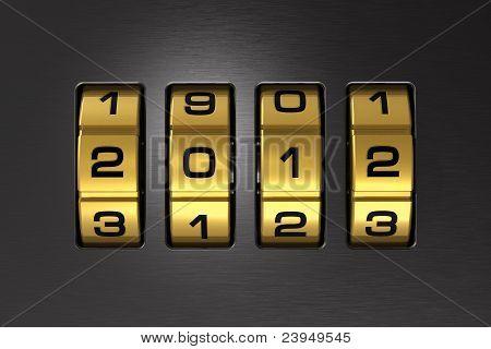 New Year 2012 code lock
