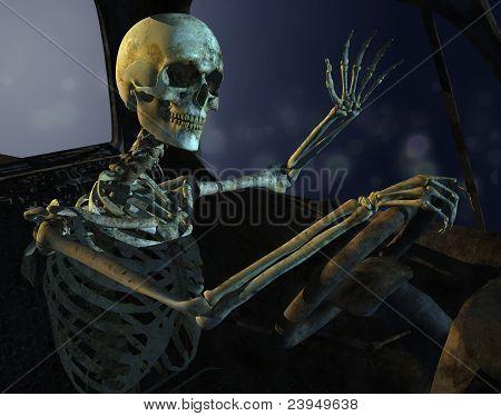 Midnight Drive Skeleton