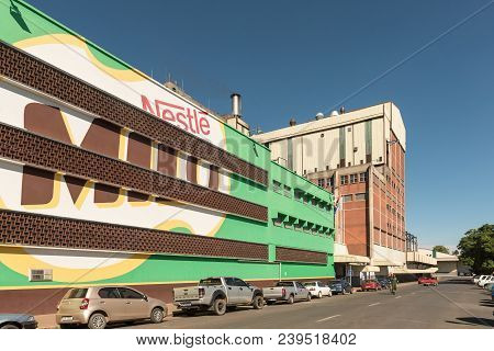 Estcourt, South Africa - March 21, 2018: The Factory Of The Nestle Company In Estcourt In The Kwazul