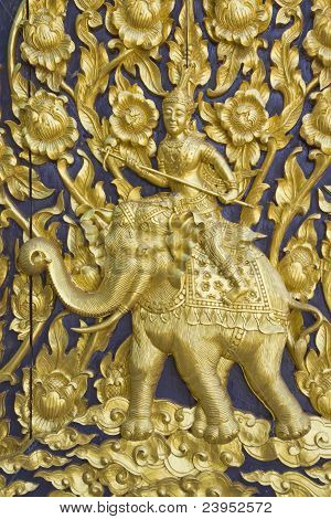 God on elephant