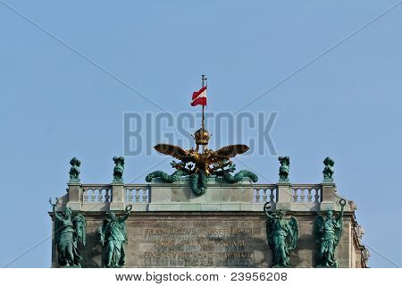 Vienna Imperial Palace Detail
