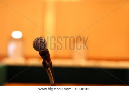 Microphone In Meeting Room