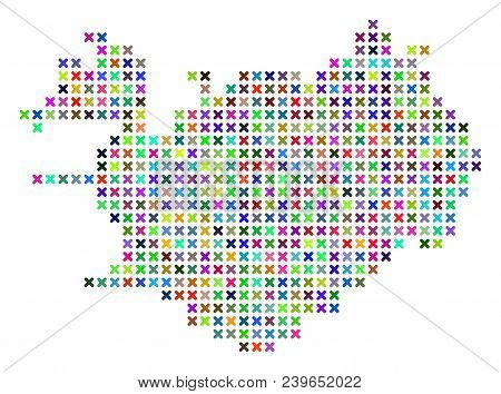 Iceland Map. Vector Vector & Photo (Free Trial) | Bigstock