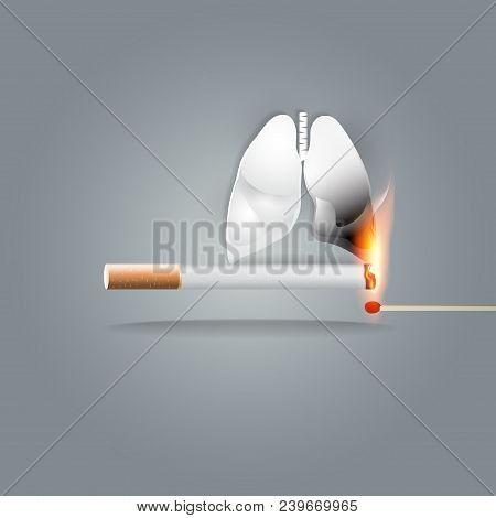 World No Tobacco Day, 31 May, A Concept For Stop Smoking. Cigarette Smoking Is the Number One risk f