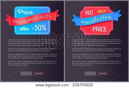 Hot Exclusive Price Premium Quality Offer Only This Week Half Cost Discount Web Poster With Push But