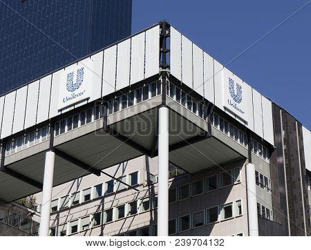 Unilever Building In Rotterdam