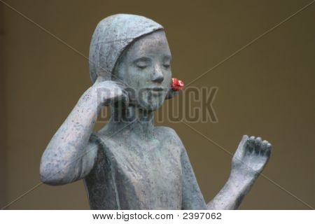 Statue Of A Girl