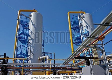 Gas Industry, Gas Transport System. Communications, Stop Valves And Appliances For Gas Pumping Stati