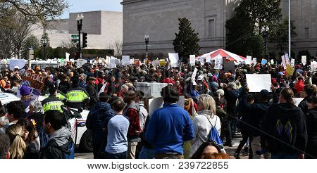 March For Our Lives On March, 24 In Washington, Dc