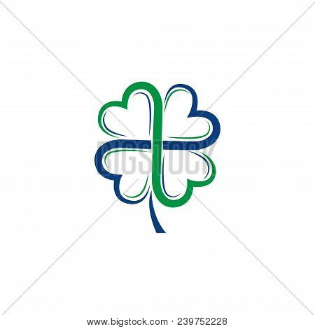 Clover. St Patrick Day. Clover icon. Clover Logo. Clover Vector. Clover vector illustration. Clover logo vector. Clover illustration. Clover symbol. Clover vector logo. St Patrick Day Clover vector isolated on white background.