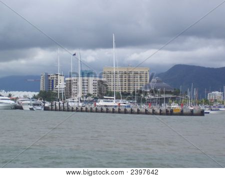 buildings near the beach with the
