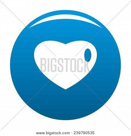 Three-dimensional Heart Icon. Simple Illustration Of Three-dimensional Heart Vector Icon For Any Des