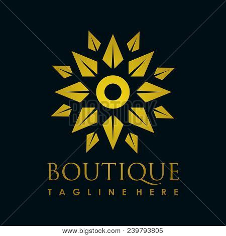 Luxury Logo. Decoration Logo. Interior Icon. Boutique Logo. Fashion Logo. Jewelry Logo. Hotel Logo.