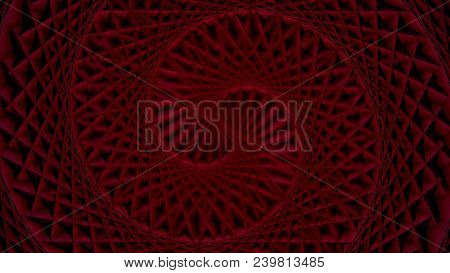 Rotating Patterned Colorful Spiral. Colorful Looped Graphic Animation. Abstract Background. Animated