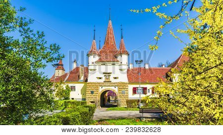 Ecaterina Gate, Fortress Of Brasov, Transylvania, Romania