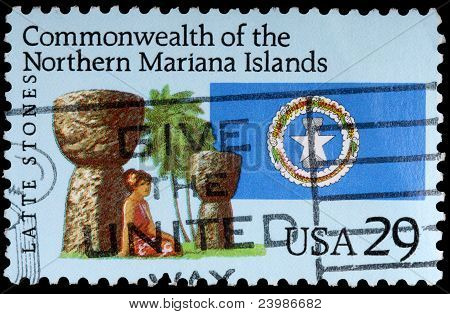 A 29-cent Stamp Printed In The Mariana Islands