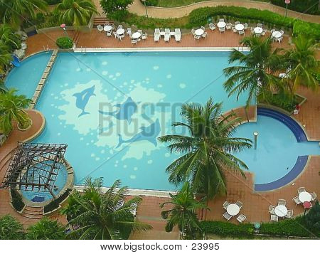 Swimming Pool - Aerialview