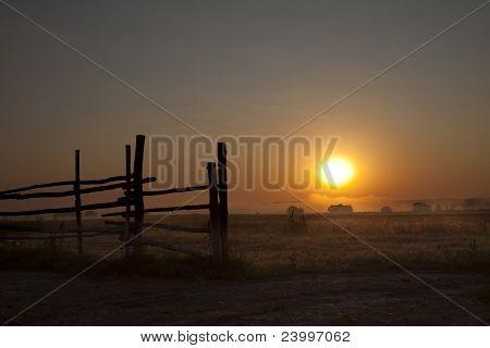 Dawn In A Fog