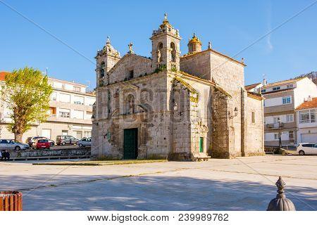 Baiona, Espanha - May 03, 2018 : Chapel Dedicated To The Cult Of Santa Liberata, Pontevedra, Espanha