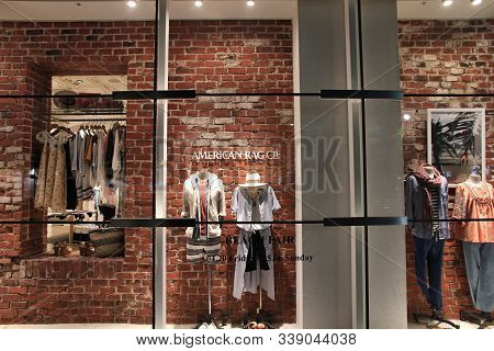Nagoya, Japan - May 3, 2012: American Rag Cie Fashion Store In Nagoya, Japan. Retail Sales Amounted