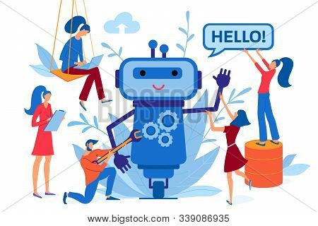 Chatbot, Chat Bot, Robot Development, Automation Process, Artificial Intelligence, Virtual Assistant