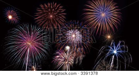 Collection Of Fireworks