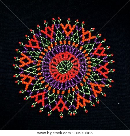 African Beaded Design Pattern