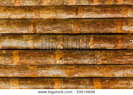 The Pattern Of The Old Wooden Wall