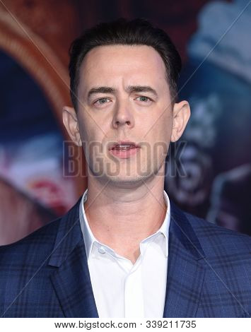 LOS ANGELES - DEC 09:  Colin Hanks arrives for the 'Jumanji: The Next Level' Los Angeles Premiere on December 09, 2019 in Hollywood, CA