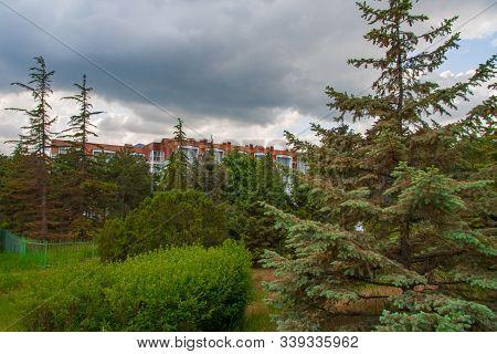 Kurortnoye - Urban Settlement At The Foot Of The Mountain Massif Kara-dag. Schebetovsky Village Coun