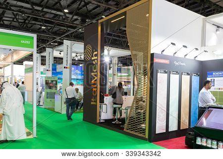 Dubai, Uae - November 25, 2019: The Big5 Exhibition Event In Dubai: The Big 5 Is The Largest Buildin