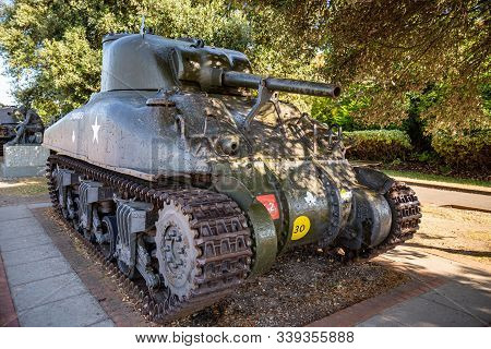 The Sherman Tank Was The Primary Battle Tank Of The U. S. And Western Allies From 1942-45. Nearly 50
