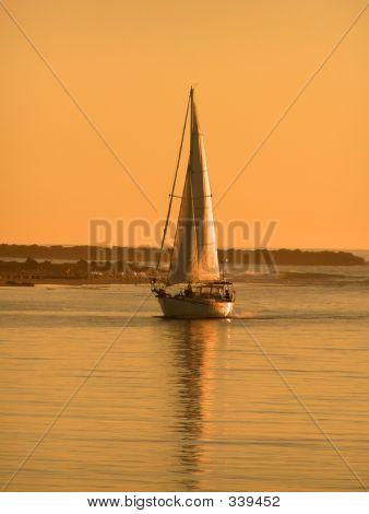 Morrow Bay Sailboat